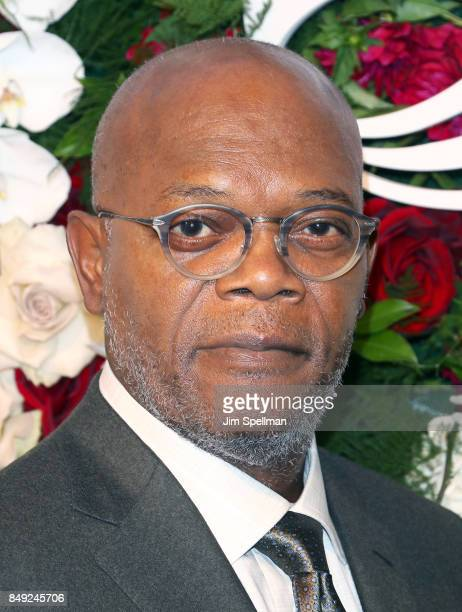 Actor Samuel L Jackson attends The American Theatre Wing's Centennial Gala at Cipriani 42nd Street on September 18 2017 in New York City