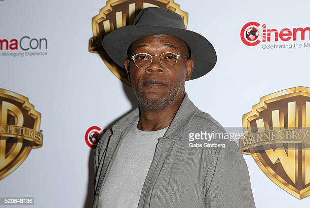 Actor Samuel L Jackson attends Warner Bros Pictures' 'The Big Picture' an exclusive presentation highlighting the summer of 2016 and beyond at The...