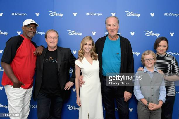 Actor Samuel L Jackson director Brad Bird actors Holly Hunter Craig T Nelson Huck Milner and Sarah Vowell of INCREDIBLES 2 took part today in the...