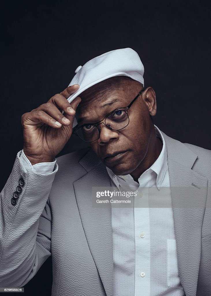 Actor Samuel L. Jackson is photographed at the 13th annual Dubai International Film Festival held at the Madinat Jumeriah Complex on December 9, 2016 in Dubai, United Arab Emirates.
