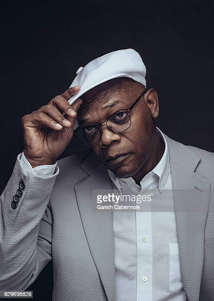 Actor Samuel L Jackson is photographed at the 13th annual Dubai International Film Festival held at the Madinat Jumeriah Complex on December 9 2016...