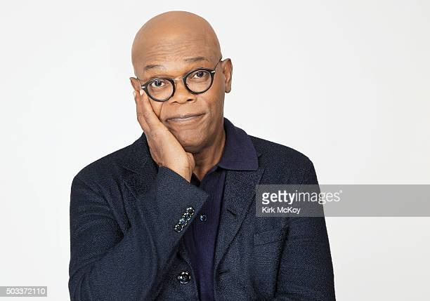 Actor Samuel L Jackson is photographed for Los Angeles Times on November 14 2015 in Los Angeles California PUBLISHED IMAGE CREDIT MUST READ Kirk...