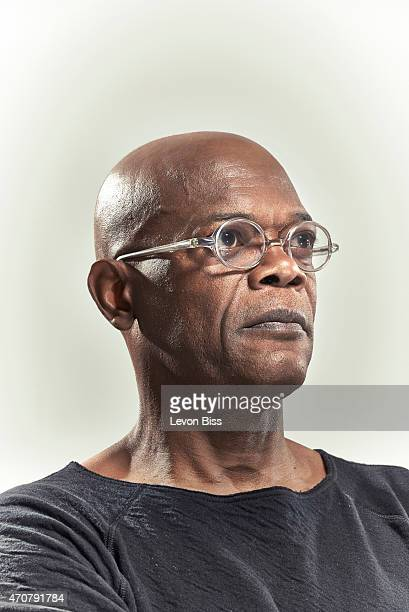 Actor Samuel L Jackson is photographed for Men's Health magazine on October 2 2014 in London England