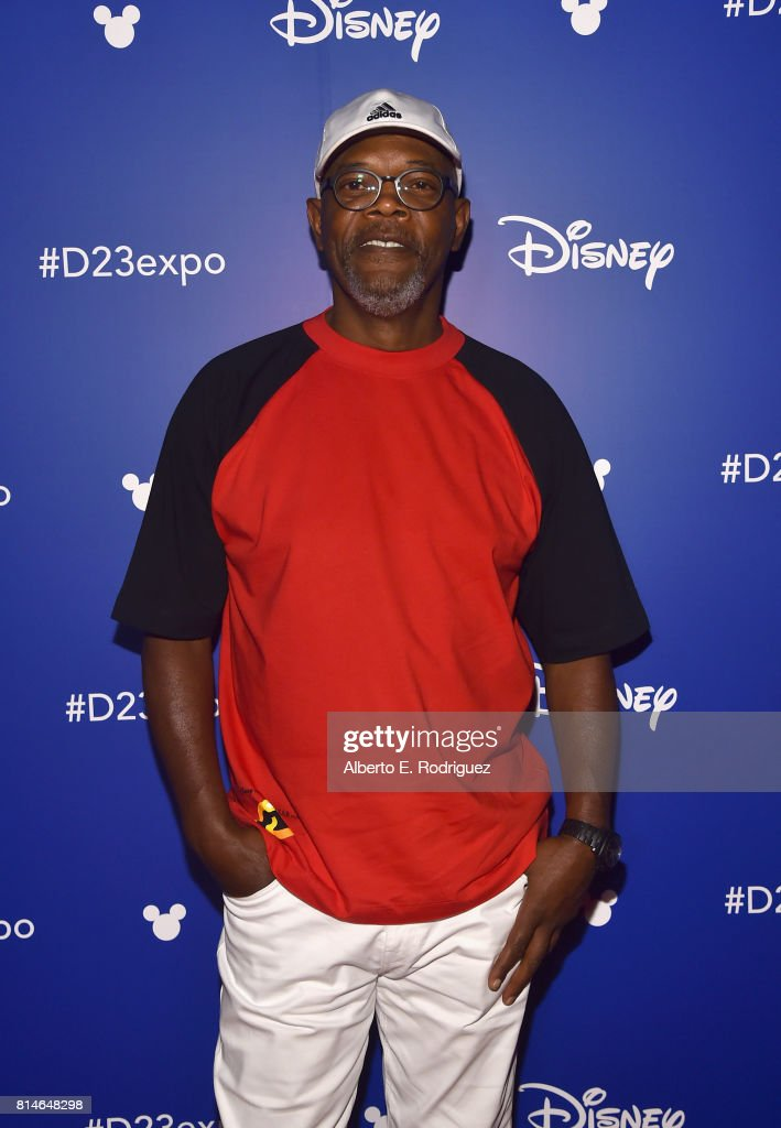 Actor Samuel L. Jackson of INCREDIBLES 2 took part today in the Walt Disney Studios animation presentation at Disney's D23 EXPO 2017 in Anaheim, Calif. INCREDIBLES 2 will be released in U.S. theaters on June 15, 2018.