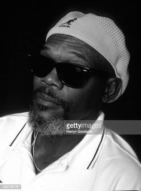 Actor Samuel L Jackson portrait United Kingdom 1997
