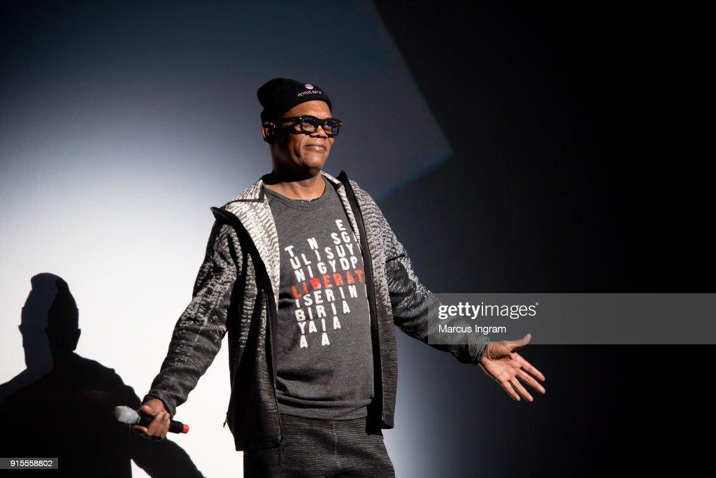 """""""Black Panther"""" Atlanta Screening : News Photo"""