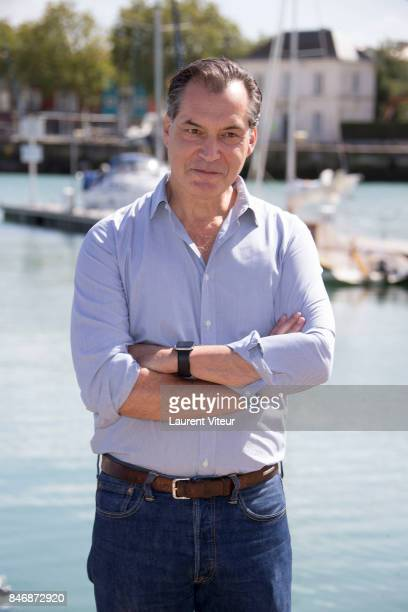 Actor Samuel Labarthe attends Petits Meutres d'Agatha Christie Photocall during 19th Festival Of TV Fiction on September 14 2017 in La Rochelle France