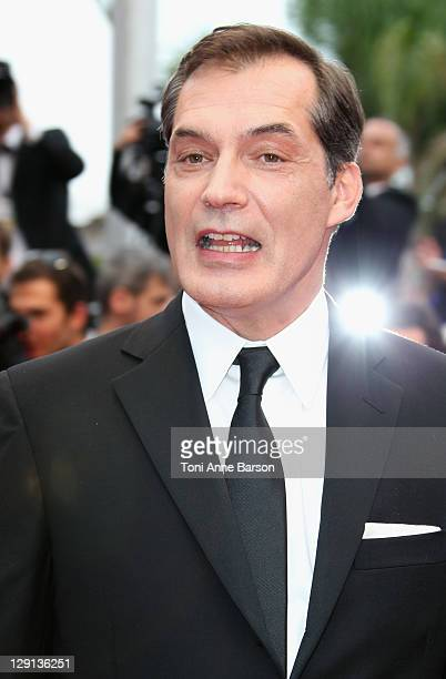 Actor Samuel Labarthe attends the La Conquete Premiere during the 64th Annual Cannes Film Festival at the Palais des Festivals on May 18 2011 in...