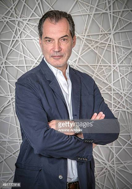Actor Samuel Labarthe is photographed for Self Assignment on August 20 2015 in Paris France