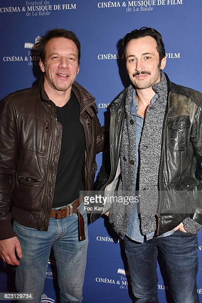 Actor Samuel le Bihan and director Michael Cohen pose at the photocall of 'L'Invitation' La Baule Premiere at the Gulf Stream cinema As part of the...