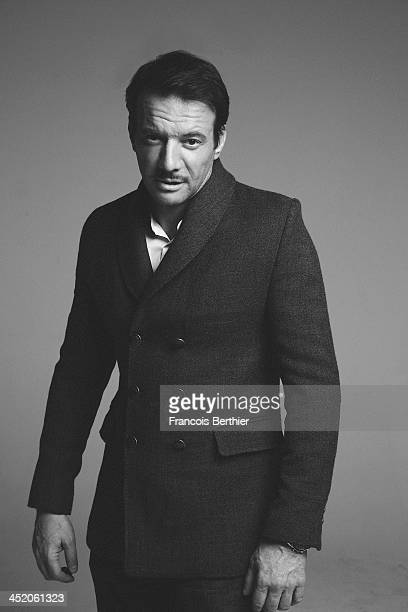 Actor Samuel Le Bihan is photographed for Self Assignment on October 28 2013 in Paris France