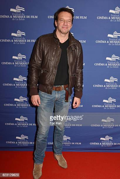 Actor Samuel le Bihan poses at the photocall of 'L'Invitation' La Baule Premiere at the Gulf Stream cinema As part of the 'Cinema Et Musique De Film...