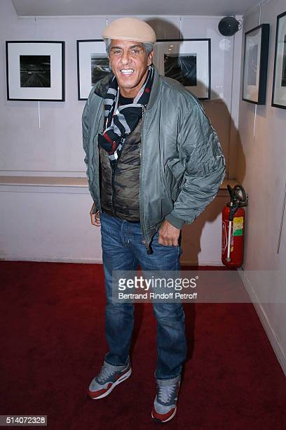 Actor Samy Naceri attends the 'Garde Alternee' Theater Play at Theatre des Mathurins on March 6 2016 in Paris France