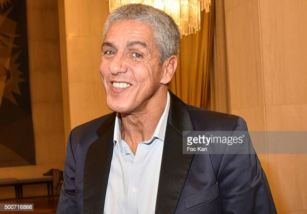 Actor Samy Naceri attends the 'Hommage A Edith Piaf' Musical Show by Christelle Loury and Oleg Pogoudine at Russian Embassy of Paris on December 9...