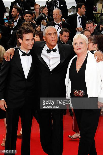Actor Samy Naceri attends the 'Sicario' premiere during the 68th annual Cannes Film Festival on May 19 2015 in Cannes France