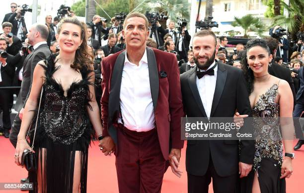 Actor Samy Naceri attends the 'Twin Peaks' screening during the 70th annual Cannes Film Festival at Palais des Festivals on May 25 2017 in Cannes...