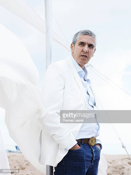 Actor Samy Naceri is photographed for Self Assignment on May 17 2013 in Cannes France