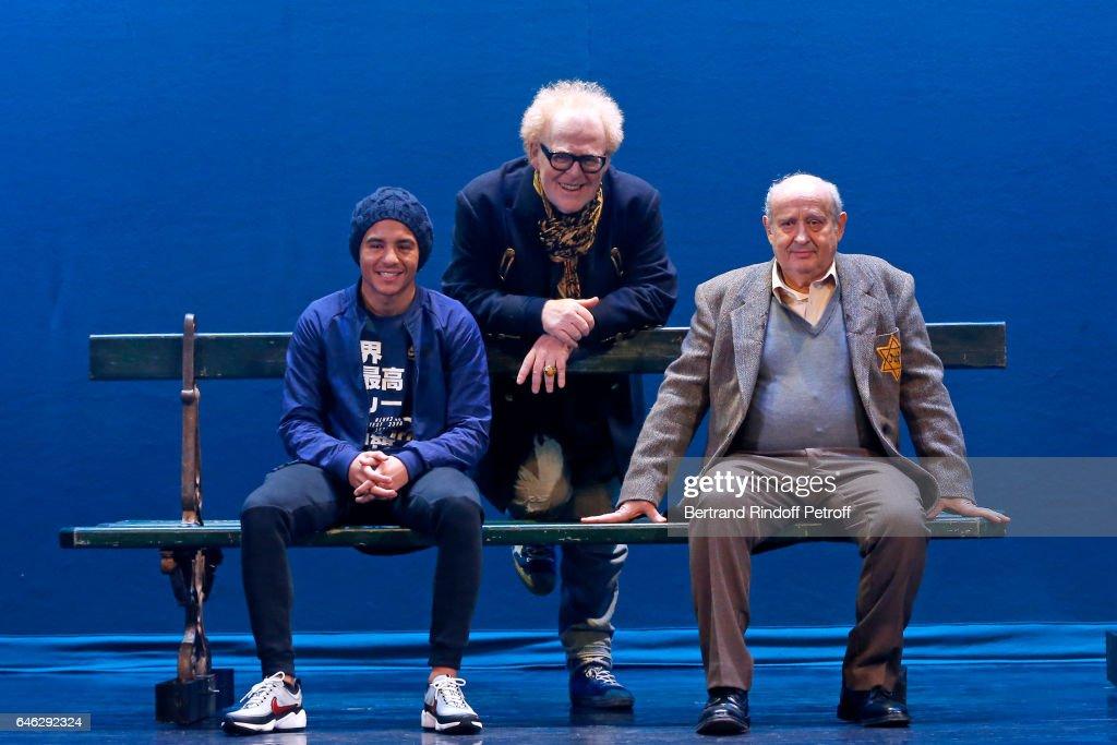 """""""Les Fantomes De La Rue Papillon"""" Press Theater Play In Paris"""