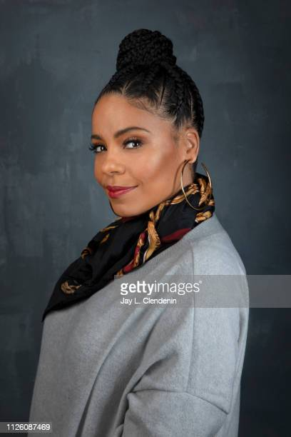 Actor Sanaa Lathan from 'Native Son' is photographed for Los Angeles Times on January 26 2019 at the 2019 Sundance Film Festival in Salt Lake City...