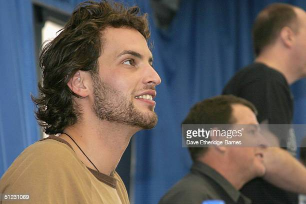 Actor Sandro Kopp is seen at The Fellowship Festival 2004 aimed at J R R Tolkien fans at Alexandra Palace on August 28 2004 in London The Lord of the...