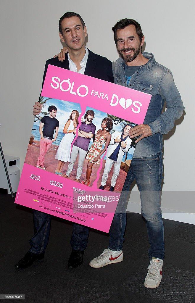 'Solo Para Dos' Madrid Photocall