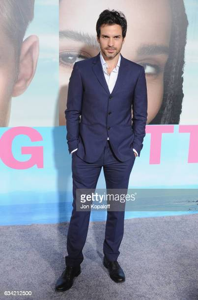Actor Santiago Cabrera arrives at the Los Angeles premiere Big Little Lies at TCL Chinese Theatre on February 7 2017 in Hollywood California