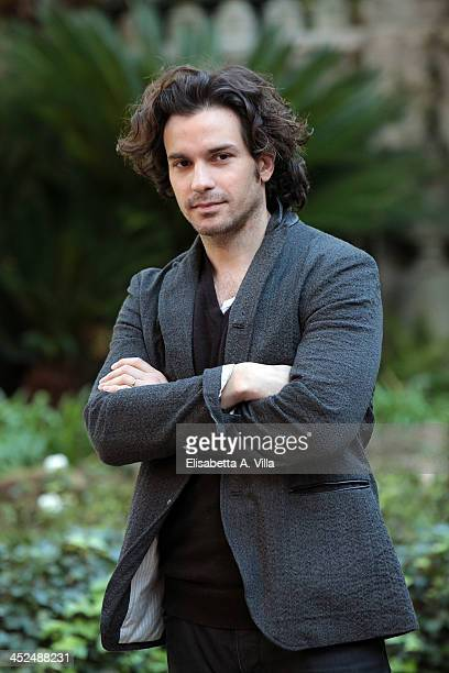 Actor Santiago Cabrera attends 'Anna Karenina' fiction TV photocall at Hotel De Russie on November 29 2013 in Rome Italy
