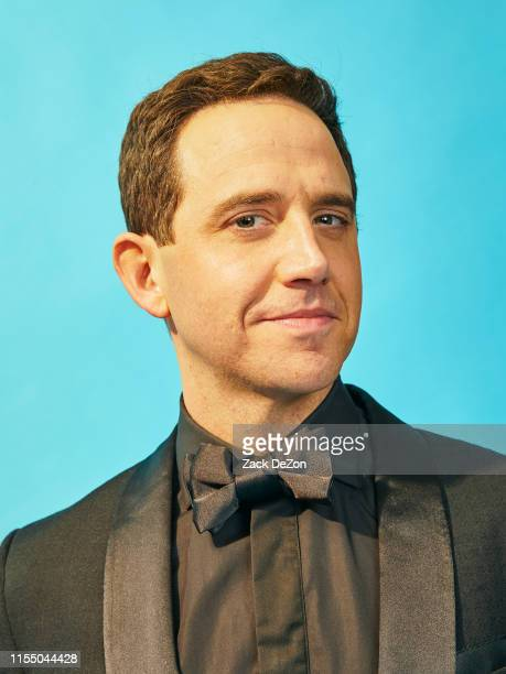 Actor Santino Fontana winner of Best Performance by an Actor in a Leading Role in a Musical for Tootsie poses for a portrait during the 73rd Annual...