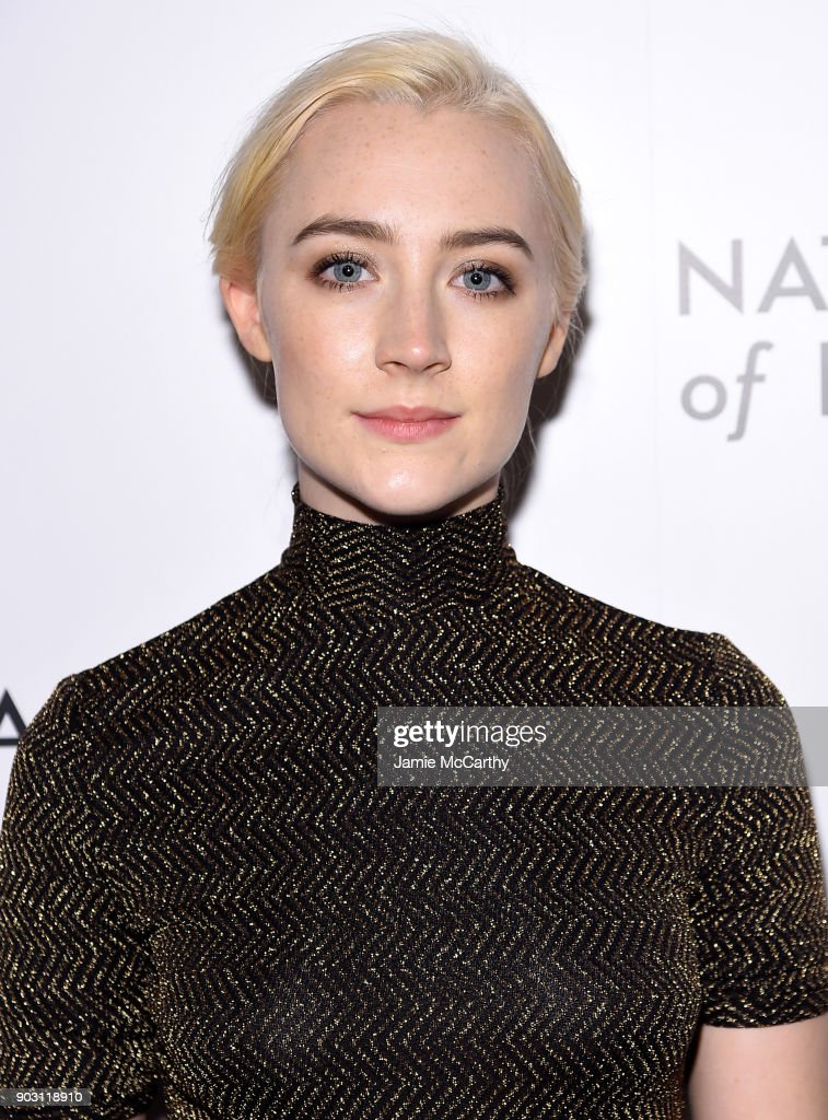 Actor Saoirse Ronan attends the National Board of Review Annual Awards Gala at Cipriani 42nd Street on January 9, 2018 in New York City.