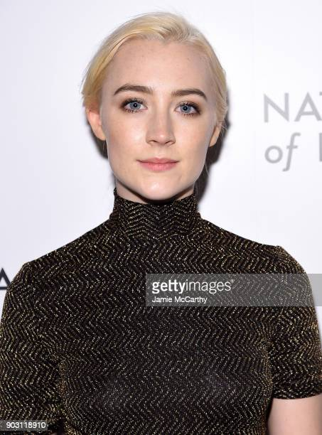 Actor Saoirse Ronan attends the National Board of Review Annual Awards Gala at Cipriani 42nd Street on January 9 2018 in New York City
