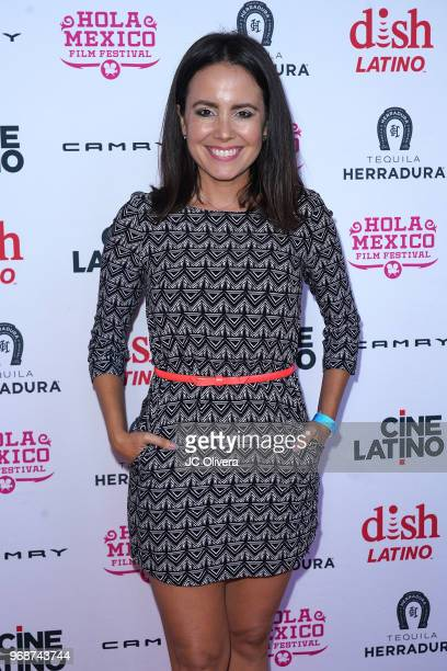 Actor Sara Castro attends The HOLA Mexico Film Festival presented by DishLATINO 'America I Too' and 'Eres Mi Pasion' Premieres at Cinepolis Pico...