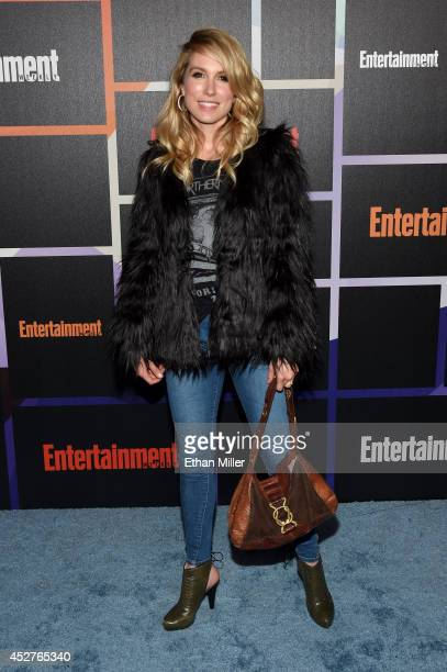 Actor Sarah Carter attends Entertainment Weekly's annual ComicCon celebration at Float at Hard Rock Hotel San Diego on July 26 2014 in San Diego...