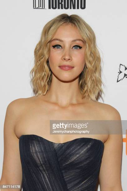 Actor Sarah Gadon attends the Alias Grace Premiere held at Winter Garden Theatre during the 2017 Toronto International Film Festival on September 14...