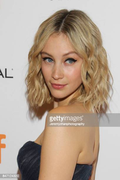 Actor Sarah Gadon attends the 'Alias Grace' Premiere held at Winter Garden Theatre during the 2017 Toronto International Film Festival on September...