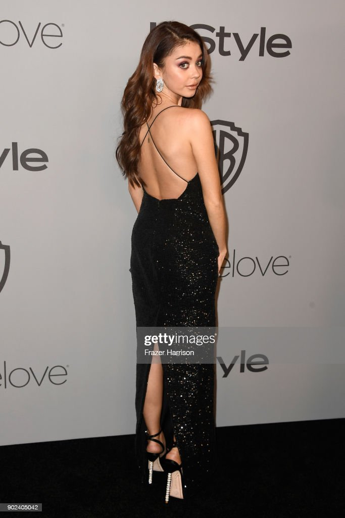 Actor Sarah Hyland attends 19th Annual Post-Golden Globes Party hosted by Warner Bros. Pictures and InStyle at The Beverly Hilton Hotel on January 7, 2018 in Beverly Hills, California.