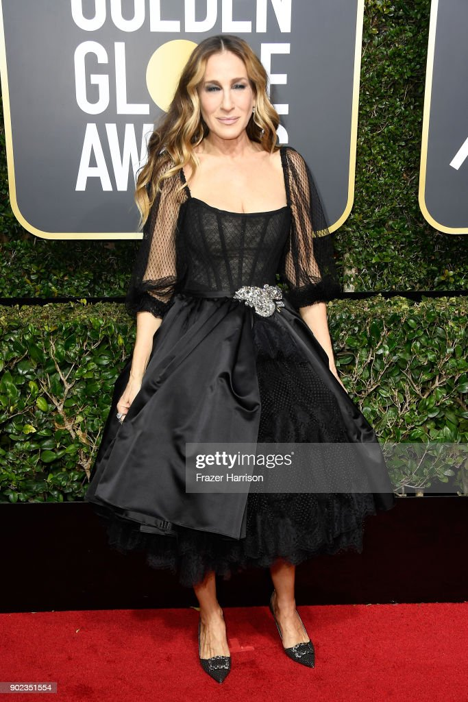 Actor Sarah Jessica Parker attends The 75th Annual Golden Globe Awards at The Beverly Hilton Hotel on January 7, 2018 in Beverly Hills, California.