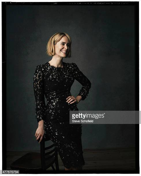 Actor Sarah Paulson is photographed for Emmy magazine on December 1 2014 in Los Angeles California