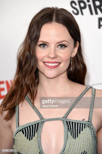 Actor Sarah Ramos attends the 2018 Film Independent Spirit Awards on March 3 2018 in Santa Monica California