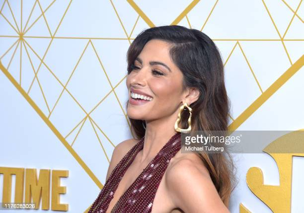 Actor Sarah Shahi attends the Showtime Emmy Eve nominees celebration at San Vincente Bungalows on September 21 2019 in West Hollywood California