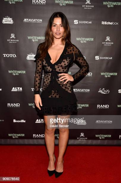 Actor Sarah Shahi attends the Whitewater Films Reception At The RAND Luxury Escape 2018 Park City at The St Regis Deer Valley during the 2018...
