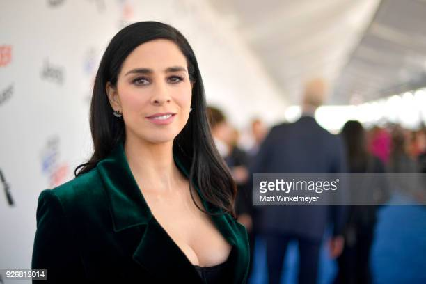 Actor Sarah Silverman attends the 2018 Film Independent Spirit Awards on March 3 2018 in Santa Monica California