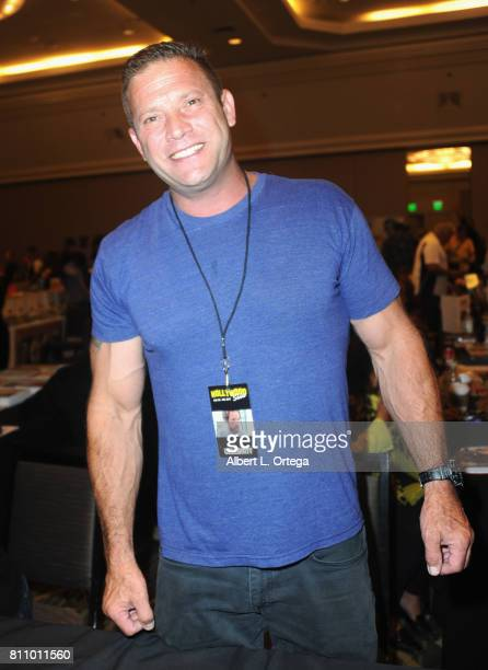 Actor Sasha Mitchell signs autographs at The Hollywood Show held at Westin LAX Hotel on July 8 2017 in Los Angeles California