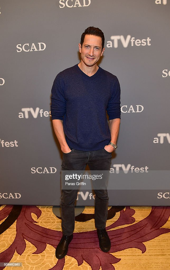 Actor Sasha Roiz attends the 'Grimm' event during aTVfest 2016 presented by SCAD on February 7, 2016 in Atlanta, Georgia.