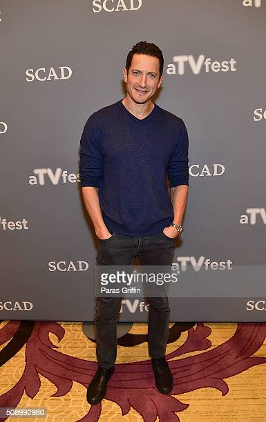 Actor Sasha Roiz attends the 'Grimm' event during aTVfest 2016 presented by SCAD on February 7 2016 in Atlanta Georgia
