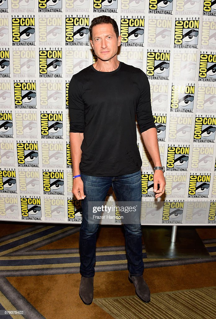 Actor Sasha Roiz attends the 'Grimm' press line during Comic-Con International on July 23, 2016 in San Diego, California.