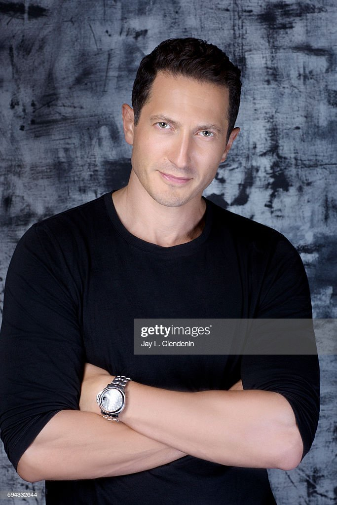 Actor Sasha Roiz of 'Grimm' is photographed for Los Angeles Times at San Diego Comic Con on July 22, 2016 in San Diego, California.
