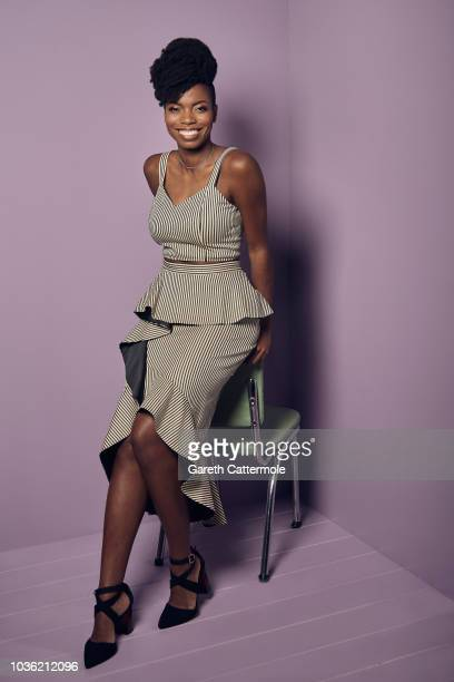 Actor Sasheer Zamata from the film 'The Weekend' poses for a portrait during the 2018 Toronto International Film Festival at Intercontinental Hotel...