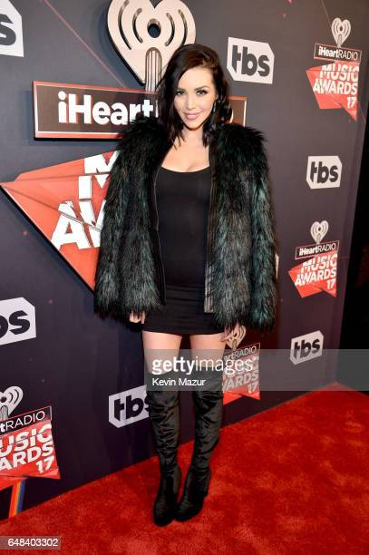 Actor Scheana Marie attends the 2017 iHeartRadio Music Awards which broadcast live on Turner's TBS TNT and truTV at The Forum on March 5 2017 in...