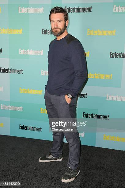 Actor SClive Standen arrives at the Entertainment Weekly celebration at Float at Hard Rock Hotel San Diego on July 11 2015 in San Diego California