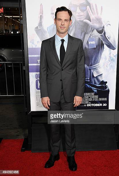 Actor Scoot McNairy attends the premiere of Our Brand Is Crisis at TCL Chinese Theatre on October 26 2015 in Hollywood California
